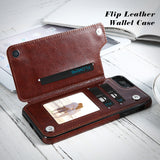 Luxury Flip Leather Wallet Case