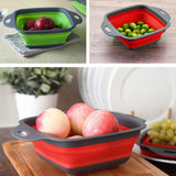 Foldable Fruit and Vegetable Washing Basket/Strainer