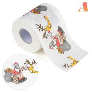 Christmas Pattern Toilet Paper