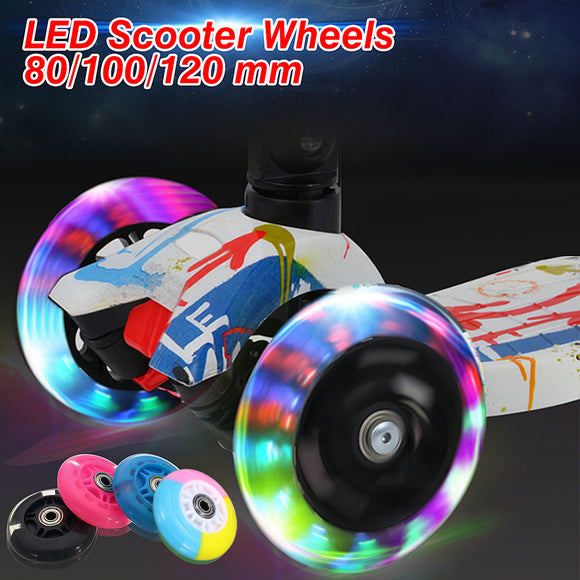 Scooter LED Flashing Wheels