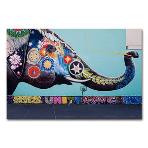 Abstract Wall Art - Unity Elephant
