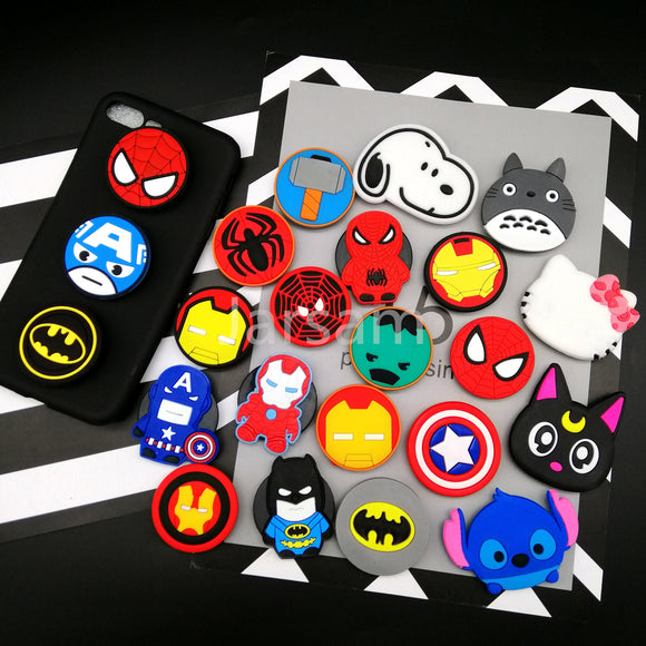 Superhero Pop Sockets