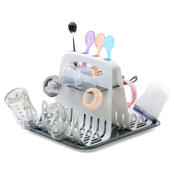 Baby Bottle and Feeding Utensils Drying Rack