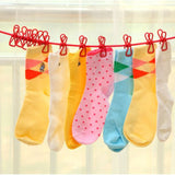 Socks / Underwear Laundry Hanger + Clips