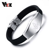 Vnox Masonic Bracelet (Unisex) - Adjustable