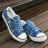 Vintage Denim Canvas Shoes