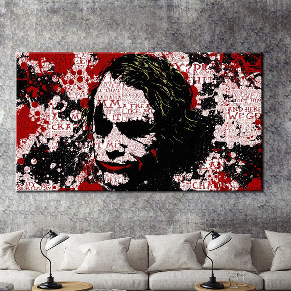 Abstract Wall Art - The Joker