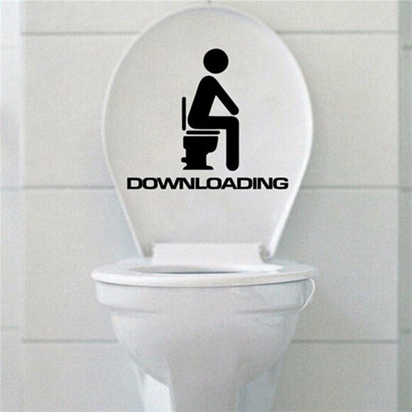 Toilet Seat Decal - Downloading