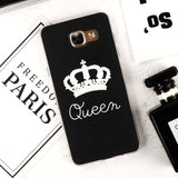 King / Queen Phone Case For Samsung Galaxy