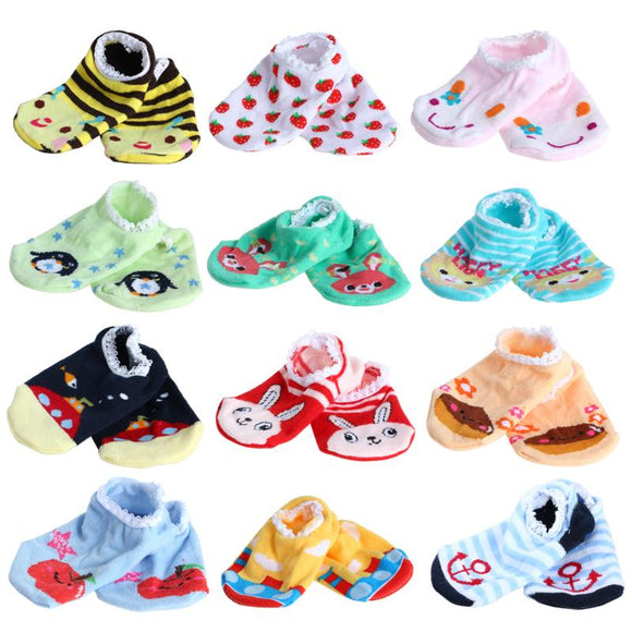 Non-slip Cartoon Baby Socks
