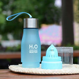 H2O Water Bottle (650ml) - Add your favourite fruit