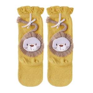 Cute Cartoon Lion Baby Socks/Leg Warmers