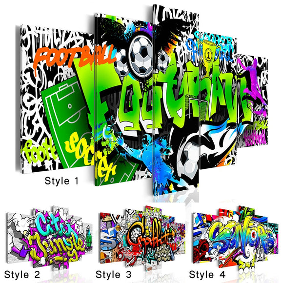 Abstract Wall Art - Graffiti (various)