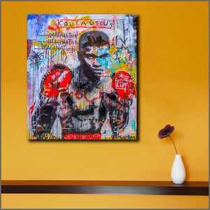 Abstract Wall Art - Muhammed-Ali