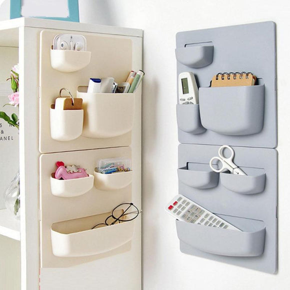 Plastic Self-adhesive Fridge Organiser