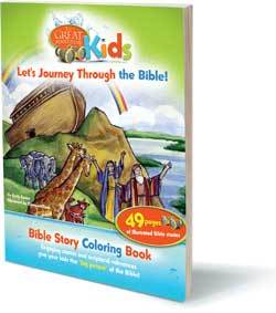 Great Adventure Kids _Let's Journey Through the Bible_ Bible Story Coloring Book