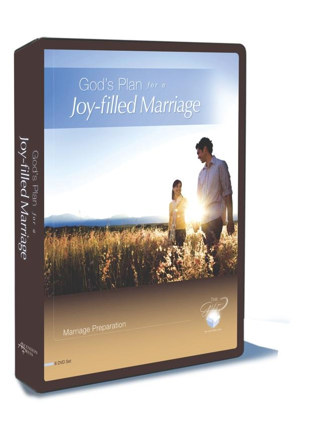 God's Plan for a Joy-Filled Marriage, 5 DVD Set