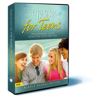 Theology of the Body for Teens: Middle School Edition DVD Set