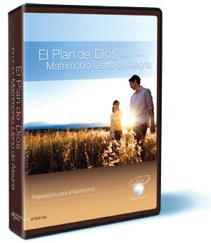 God's Plan for a Joy-Filled Marriage-Spanish Edition DVD (6-Part Study)