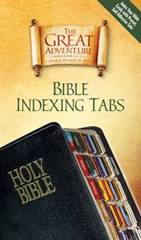 Great Adventure Catholic Bible Indexing Tabs