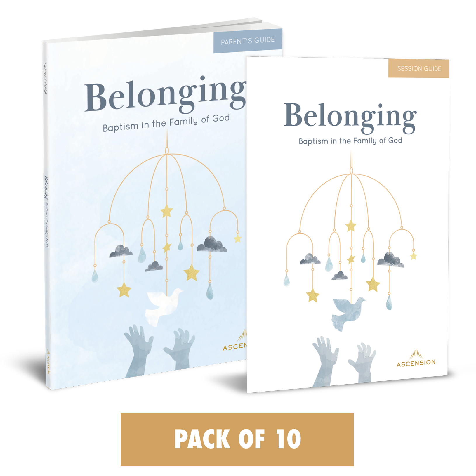Belonging: Baptism in the Family of God, Parent's Set (Pack of 10)