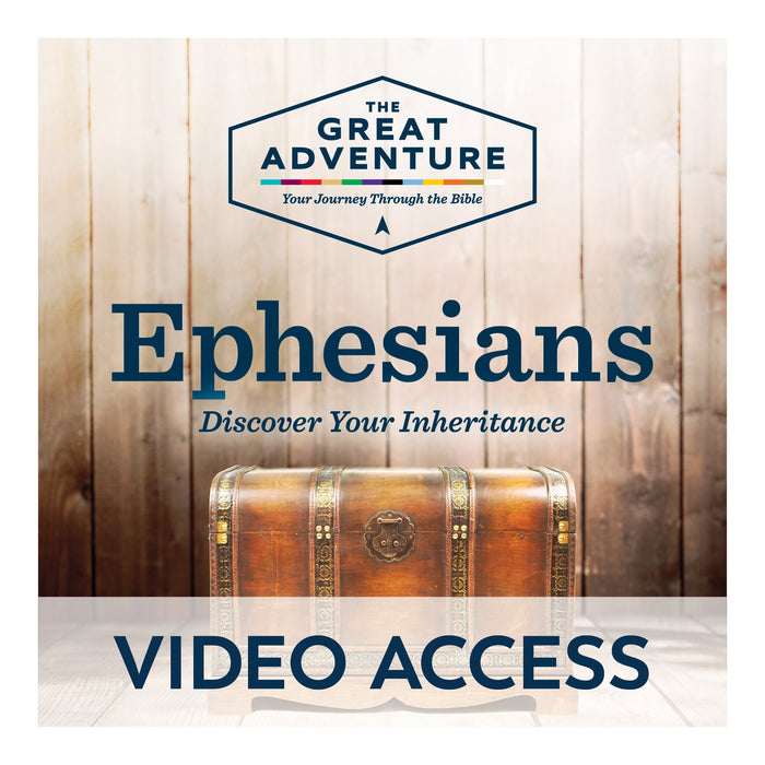 Ephesians: Discover Your Inheritance Bible [Online Video Access]