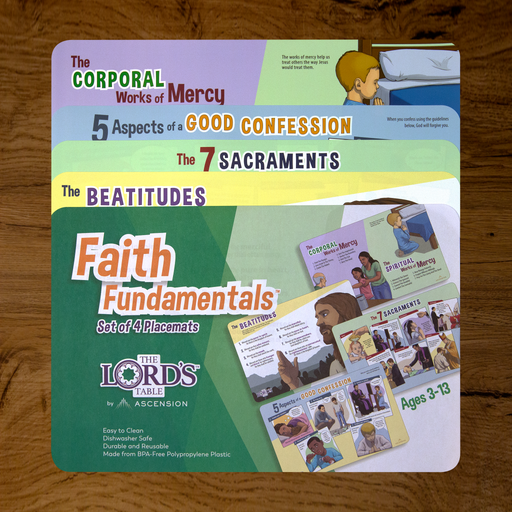 Faith Fundamentals Placemats (Set of 4)