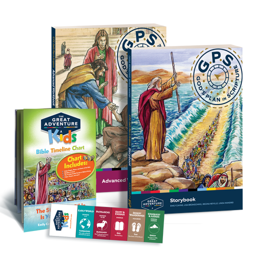 GPS: God's Plan in Scripture Advanced Student Pack