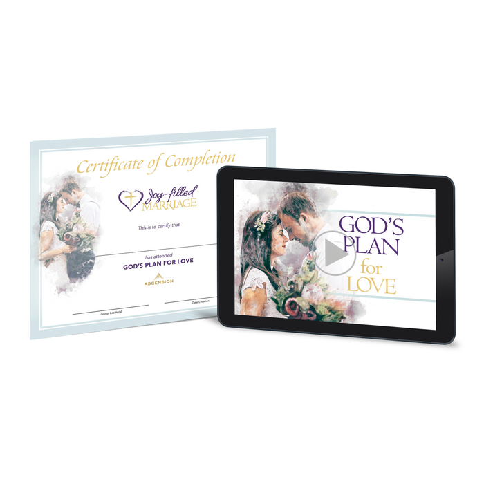 Joy-Filled Marriage - God's Plan for Love, Certification Course