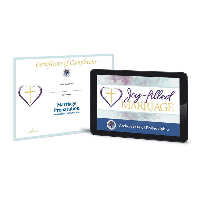 Philadelphia Marriage Preparation - Joy-Filled Marriage, Self-Paced Online Certification Course