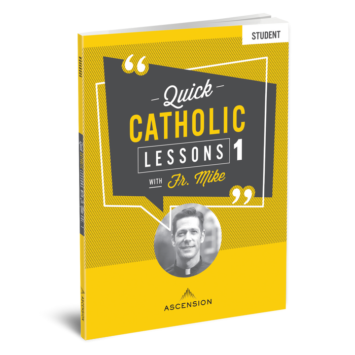Quick Catholic Lessons with Fr. Mike: Vol. 1, Student Workbook