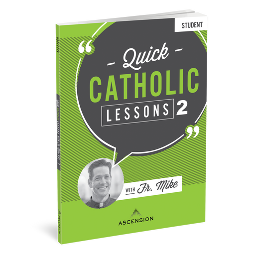 Quick Catholic Lessons with Fr. Mike: Vol. 2, Student Workbook
