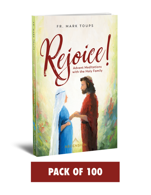 Rejoice! Advent Meditations with the Holy Family, Journal (Pack of 100)