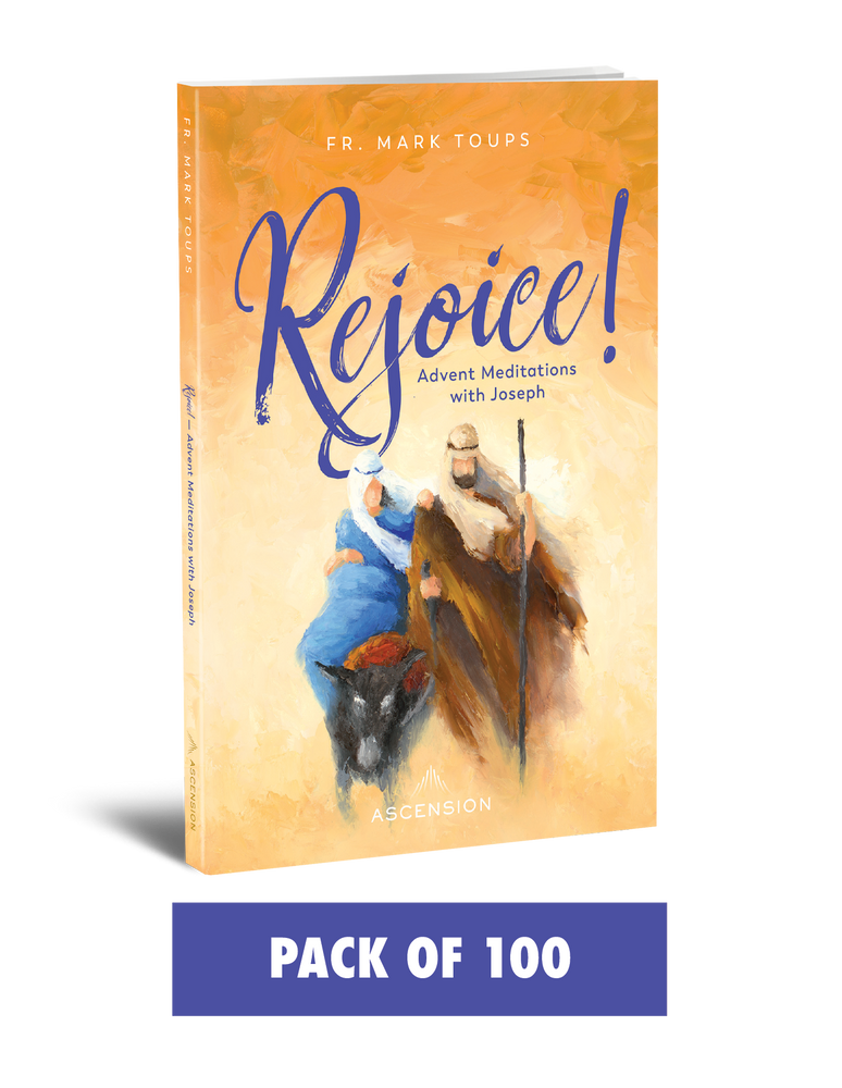 Rejoice! Advent Meditations with Joseph, Journal (Pack of 100)