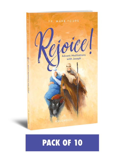 Rejoice! Advent Meditations with Joseph, Journal (Pack of 10)
