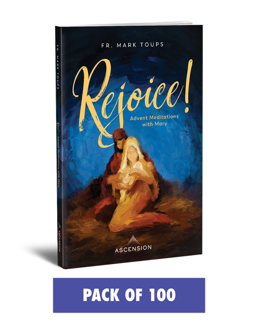 Rejoice! Advent Meditations with Mary, Journal (Pack of 100)
