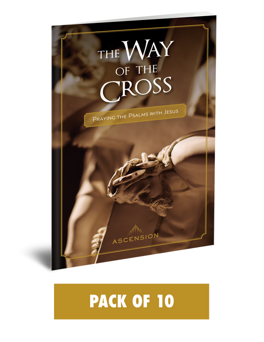 The Way of the Cross: Praying the Psalms with Jesus (Pack of 10)