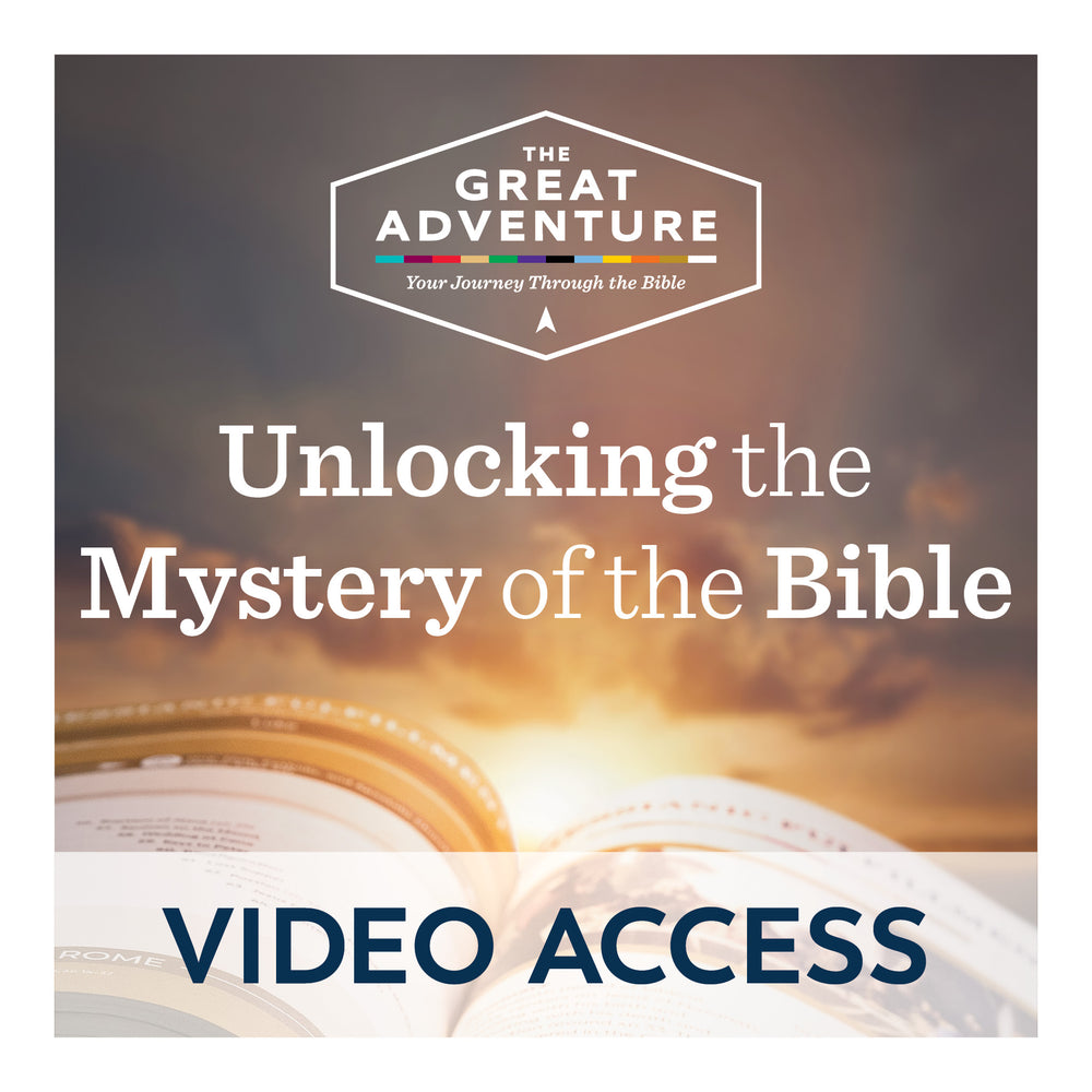 Unlocking the Mystery of the Bible [Online Video Access]