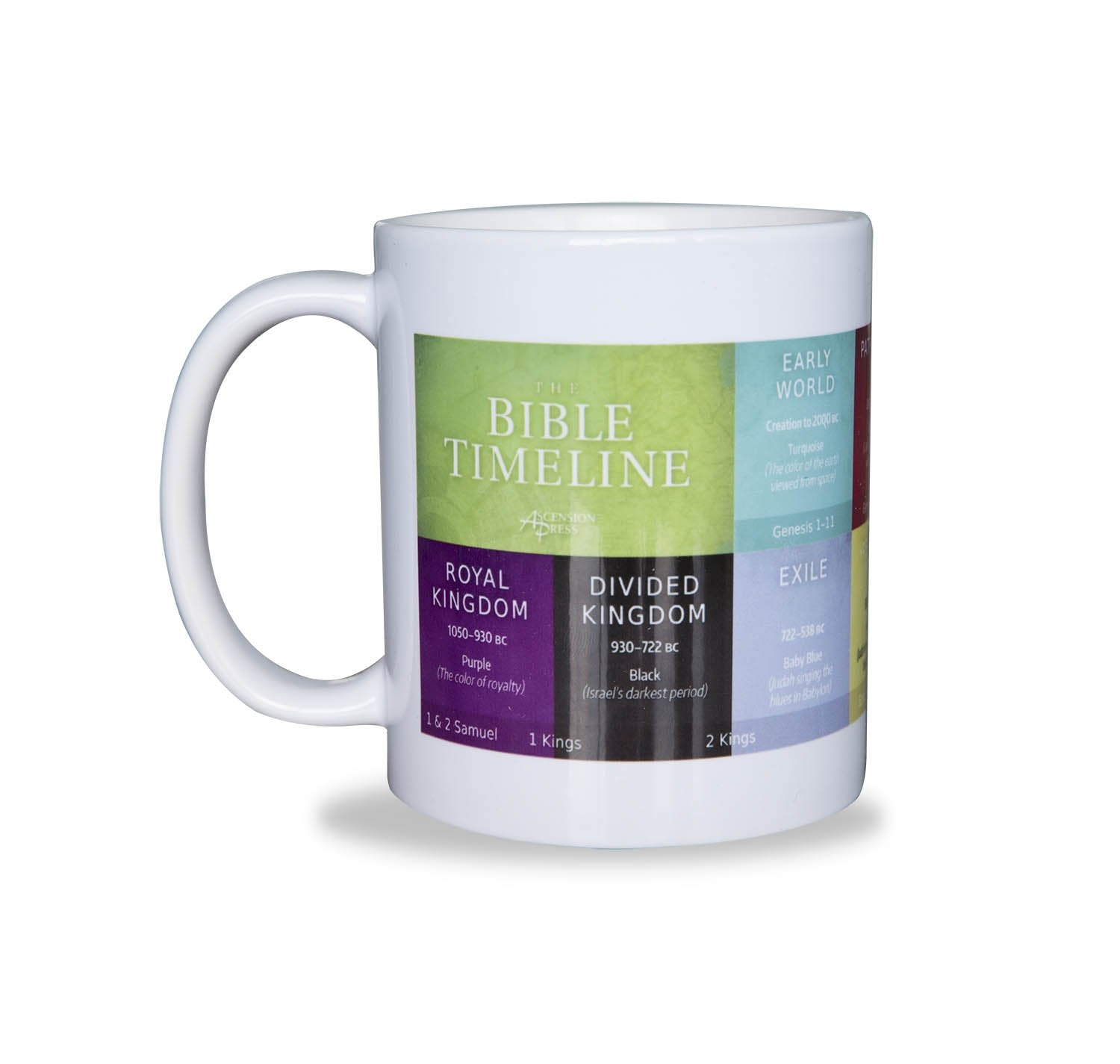 Great Adventure Bible Timeline Mug