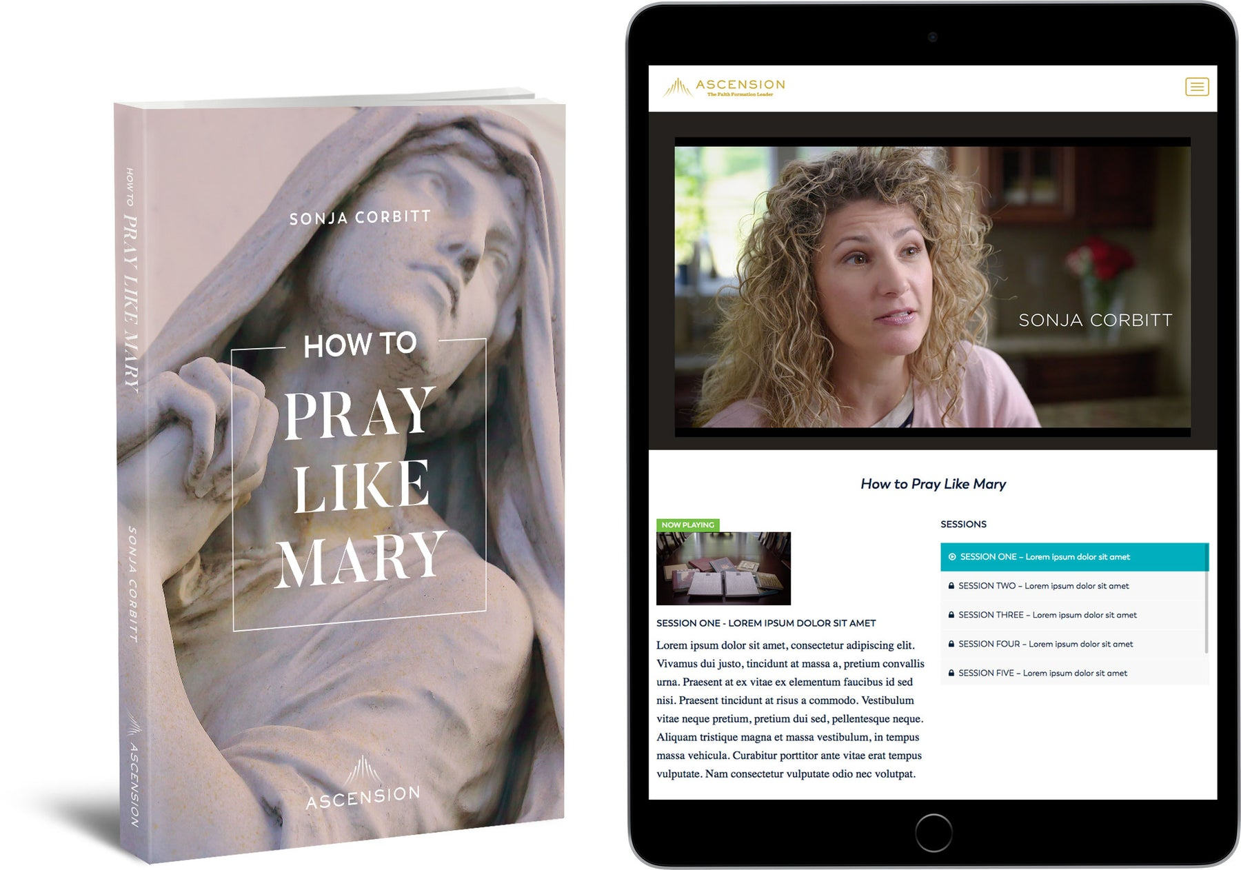 How to Pray Like Mary Book + Video Access Bundle