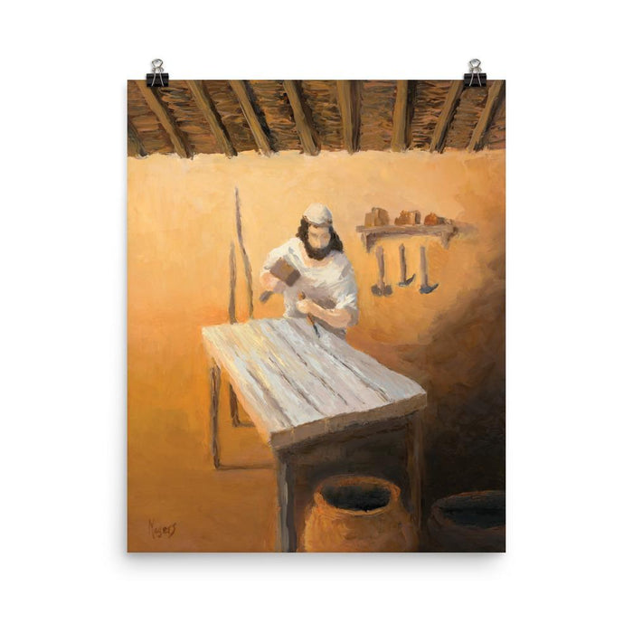 Rejoice! Art Prints: Joseph the Carpenter