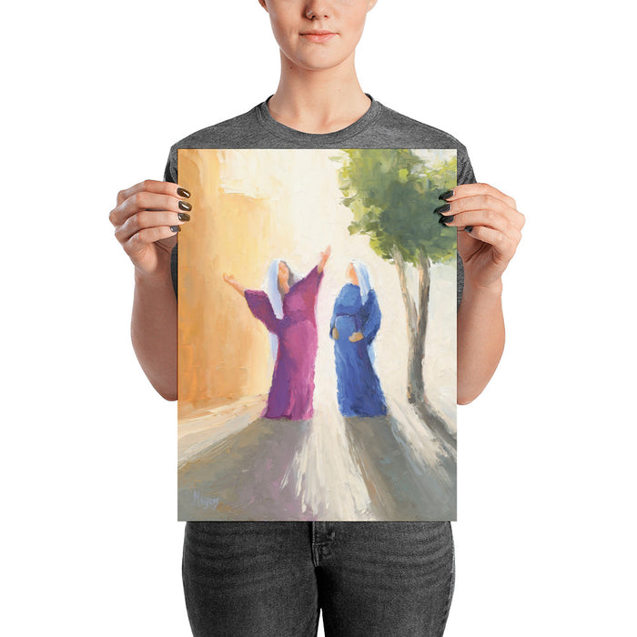 Rejoice! Art Prints: The Visitation