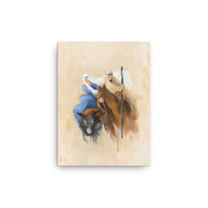Rejoice! Fine Art Canvas Prints: The Journey to Bethlehem