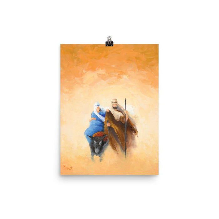 Rejoice! Art Prints: Onward to Bethlehem