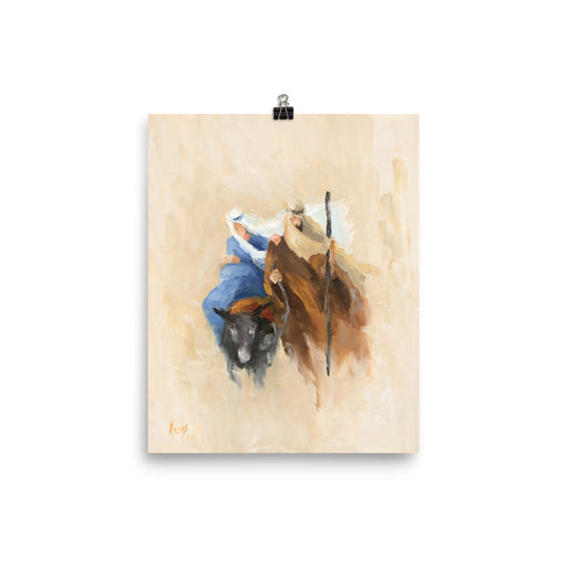 Rejoice! Art Prints: The Journey to Bethlehem
