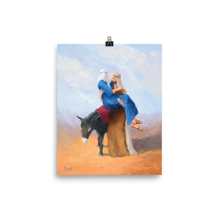Rejoice! Art Prints: Embarking for Bethlehem