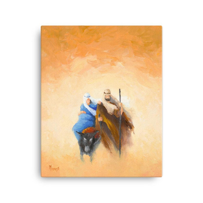 Rejoice! Fine Art Canvas Prints: Onward to Bethlehem