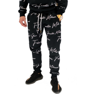 Mens All Over FGM Printed 3 Piece Tracksuit
