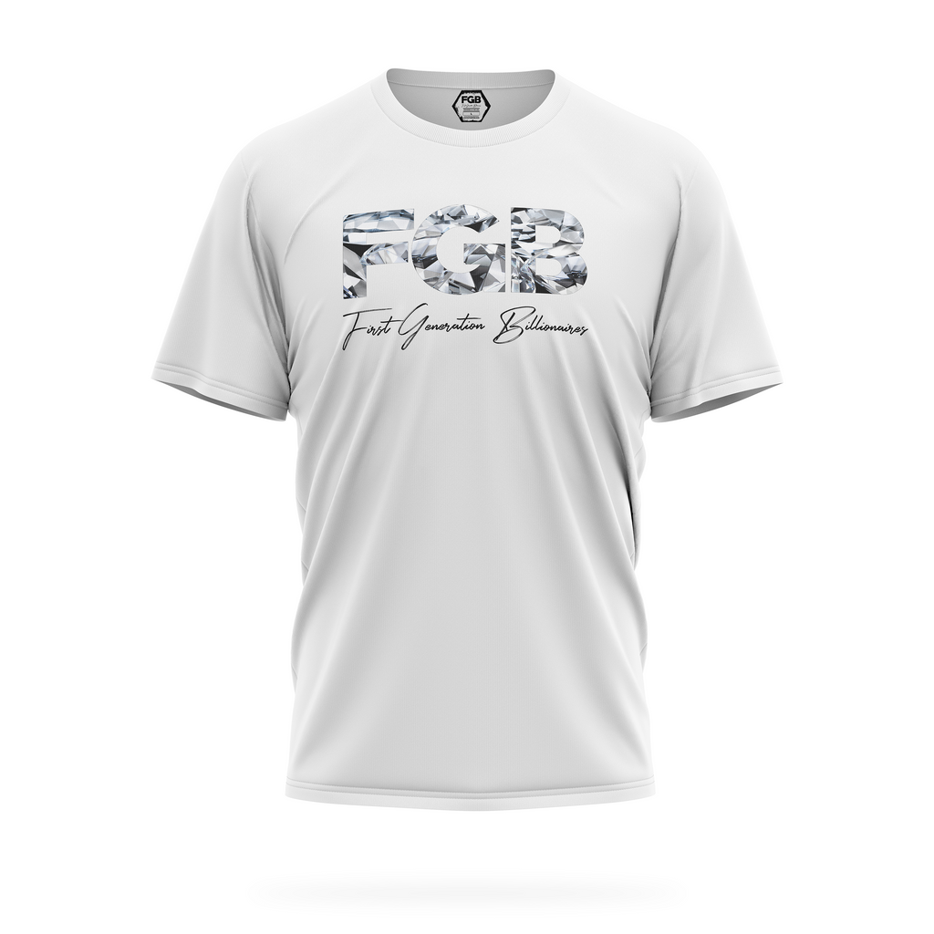 FGB DIAMOND TEE (White)