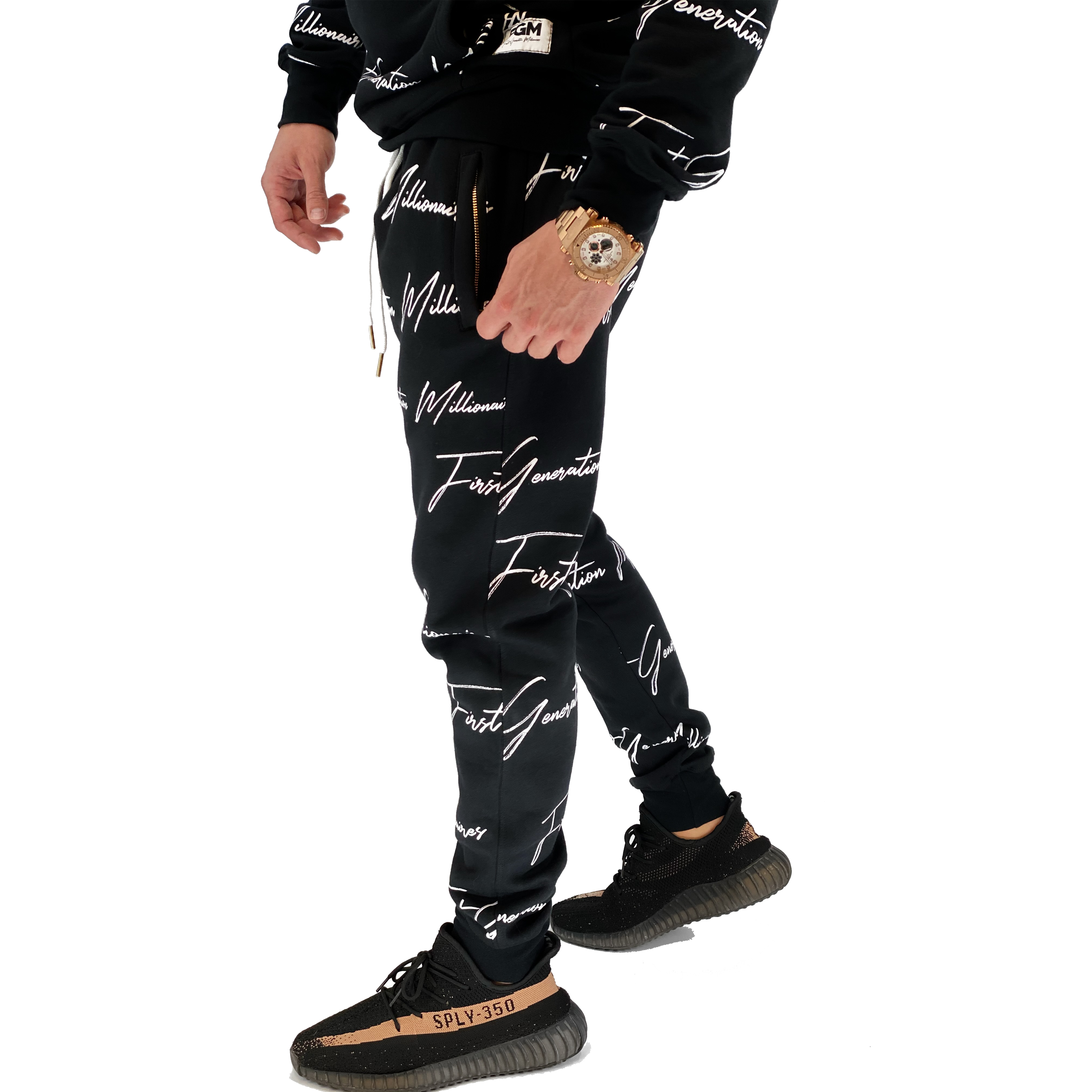All Over FGM Printed 3 Piece Tracksuit
